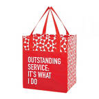View larger image of Value Grocery Tote - Outstanding Service: It's What I Do