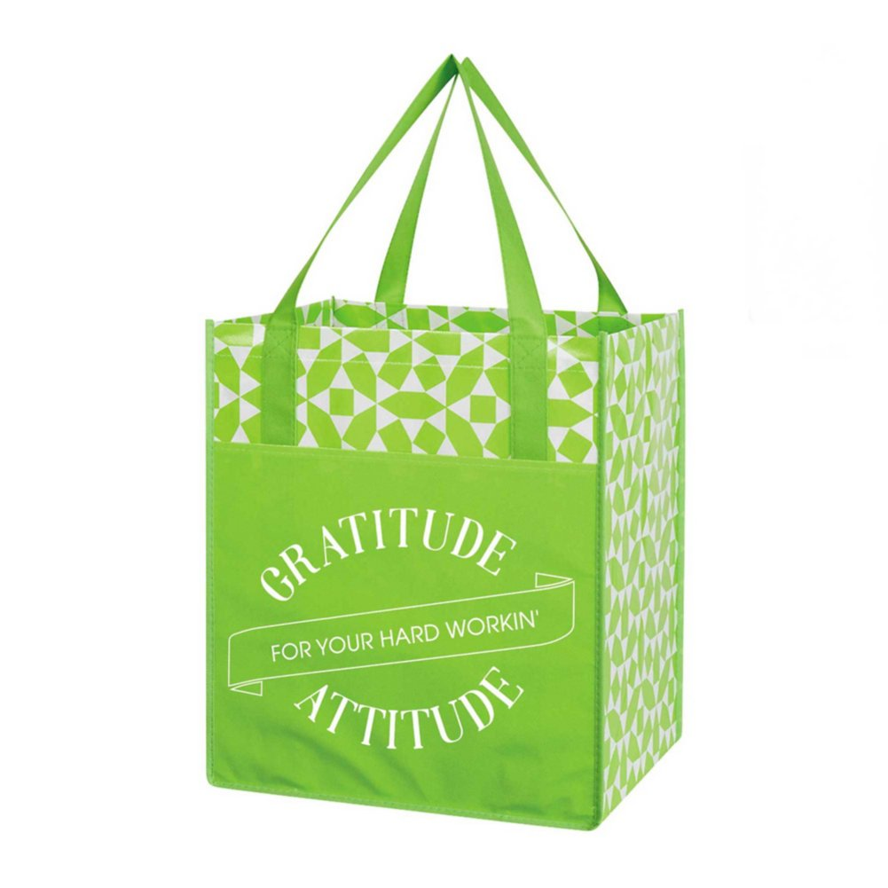 View larger image of Value Grocery Tote- Gratitude For Your Hard Workin' Attitude