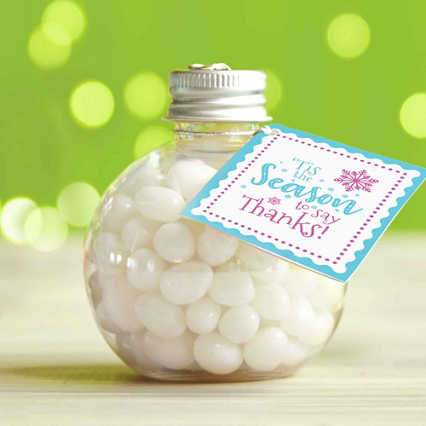 Jelly Bean Ornament - 'Tis The Season To Say Thanks