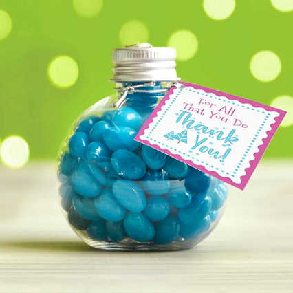 Jelly Bean Ornament - For All Thant You Do, Thank You!