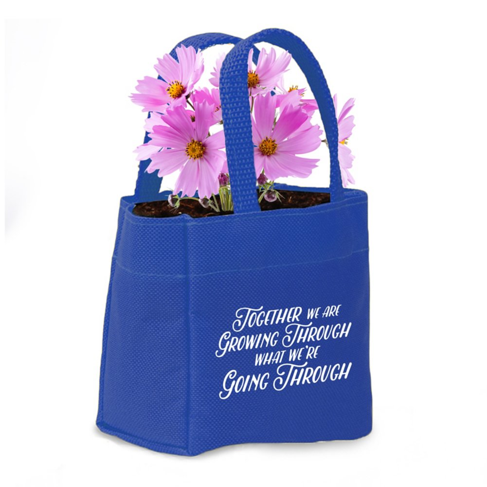 View larger image of Mini Tote Planter Set - Grow Through, Go Through