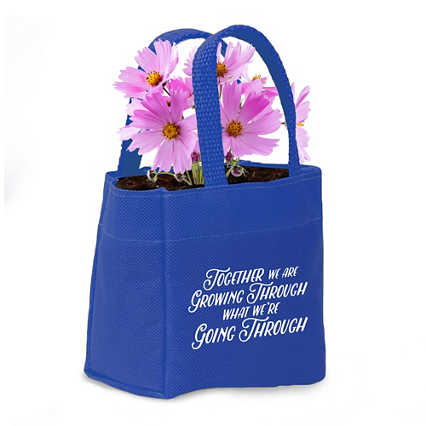 Mini Tote Planter Set - Grow Through, Go Through