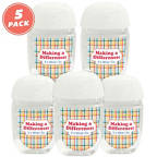 View larger image of Positive Pocket Hand Sanitizer 5-Pack: Making a Difference
