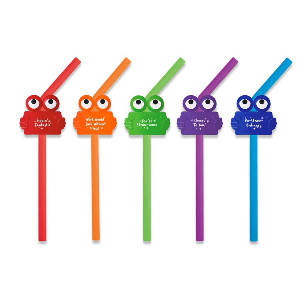 View larger image of Strawsome Silicone Straw Pack