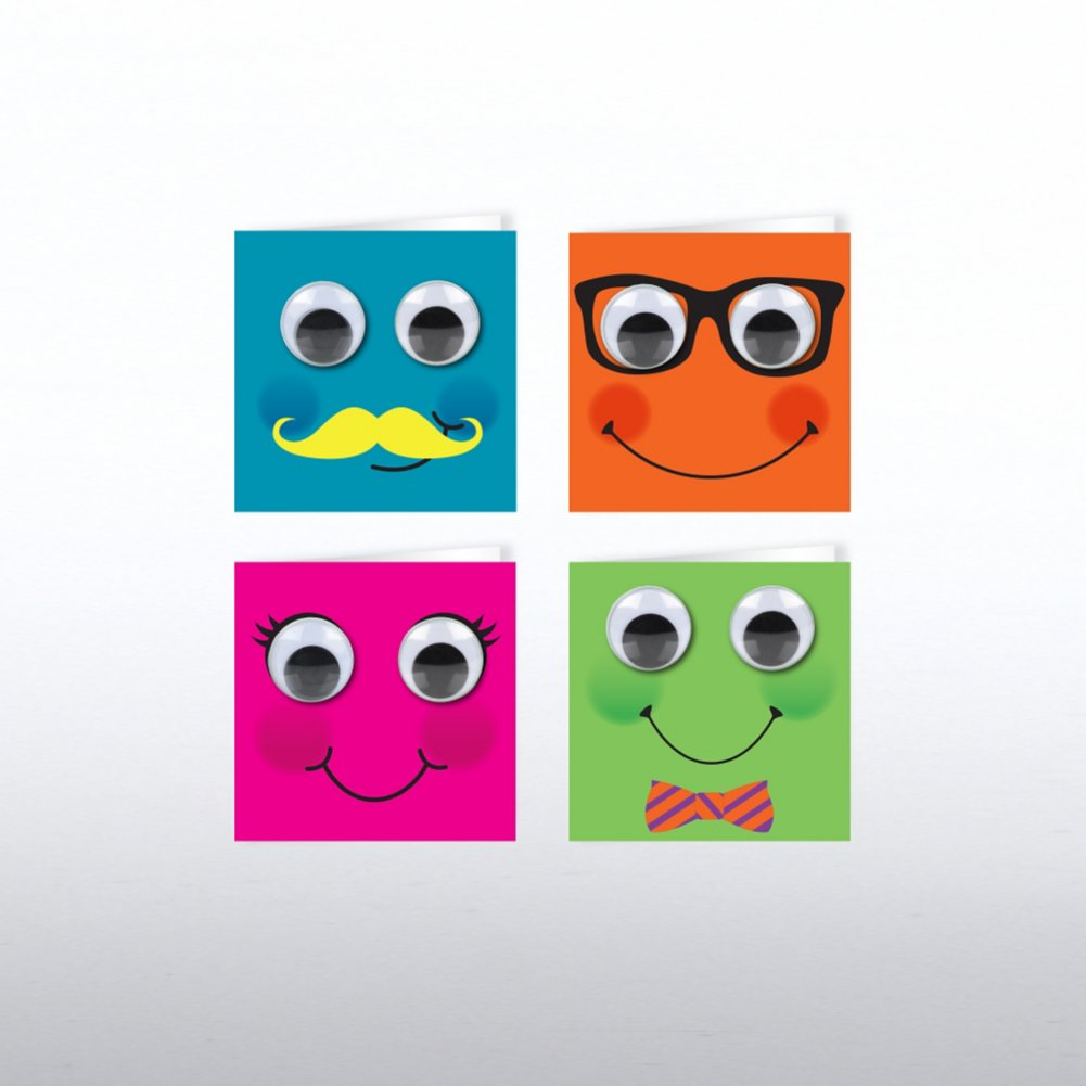 Tiny Cards - Googly Eye Fun Faces Set