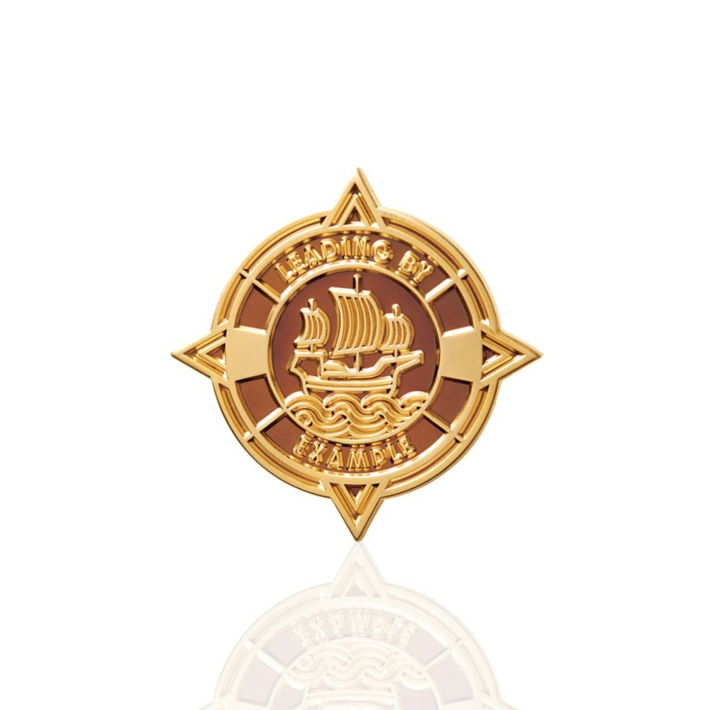 View larger image of Lapel Pin - Ship - Leading by Example