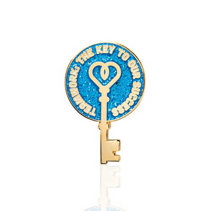 Lapel Pin - Teamwork. The Key To Our Success