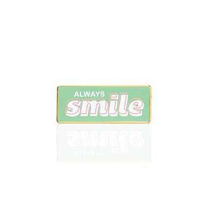 Lapel Pin - Always Smile