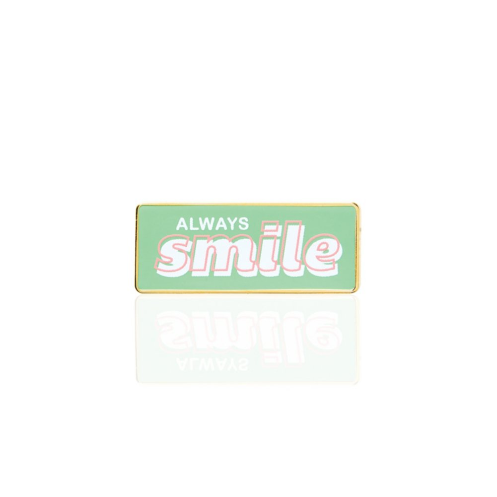 Lapel Pin - Always Smile
