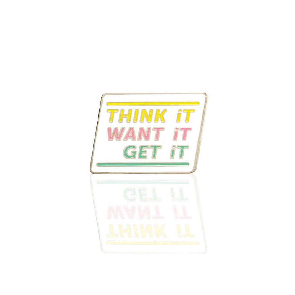 View larger image of Lapel Pin - Think It, Want It, Get It