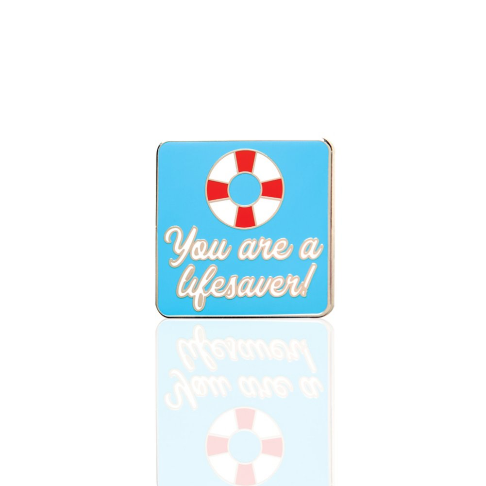View larger image of Lapel Pin - You Are a Lifesaver!
