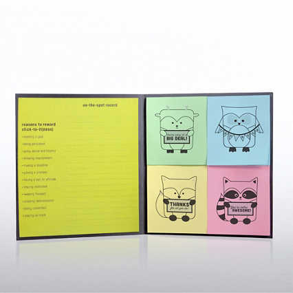 Peel & Stick Recognition Note Set -  Woodland Animals