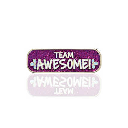 Lapel Pin - Team Awesome!