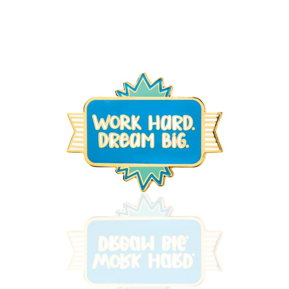 View larger image of Lapel Pin - Work Hard. Dream Big.