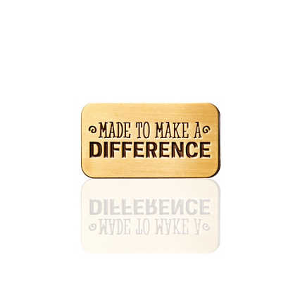 Lapel Pin - Made to Make a Difference