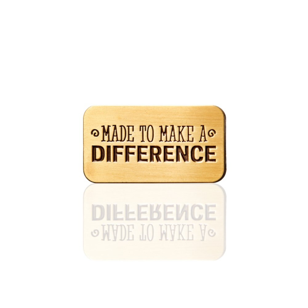 View larger image of Lapel Pin - Made to Make a Difference