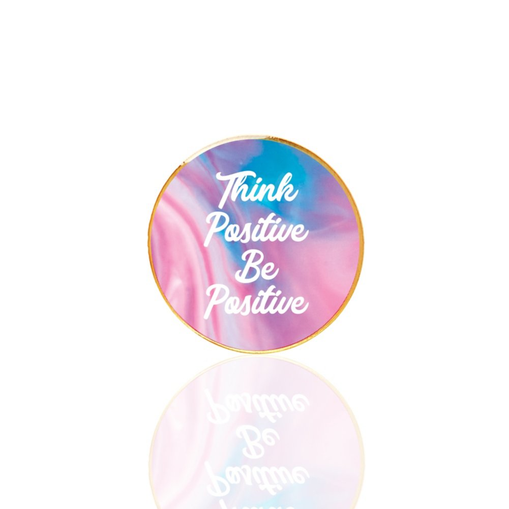 View larger image of Lapel Pin - Think Positive, Be Positive