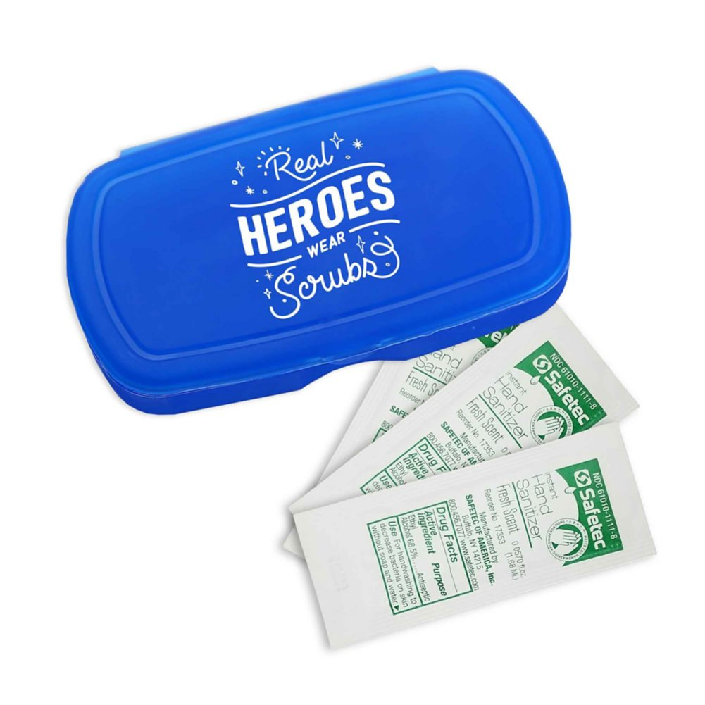 View larger image of Pocket Sanitizer Kit: Real Heroes Wear Scrubs