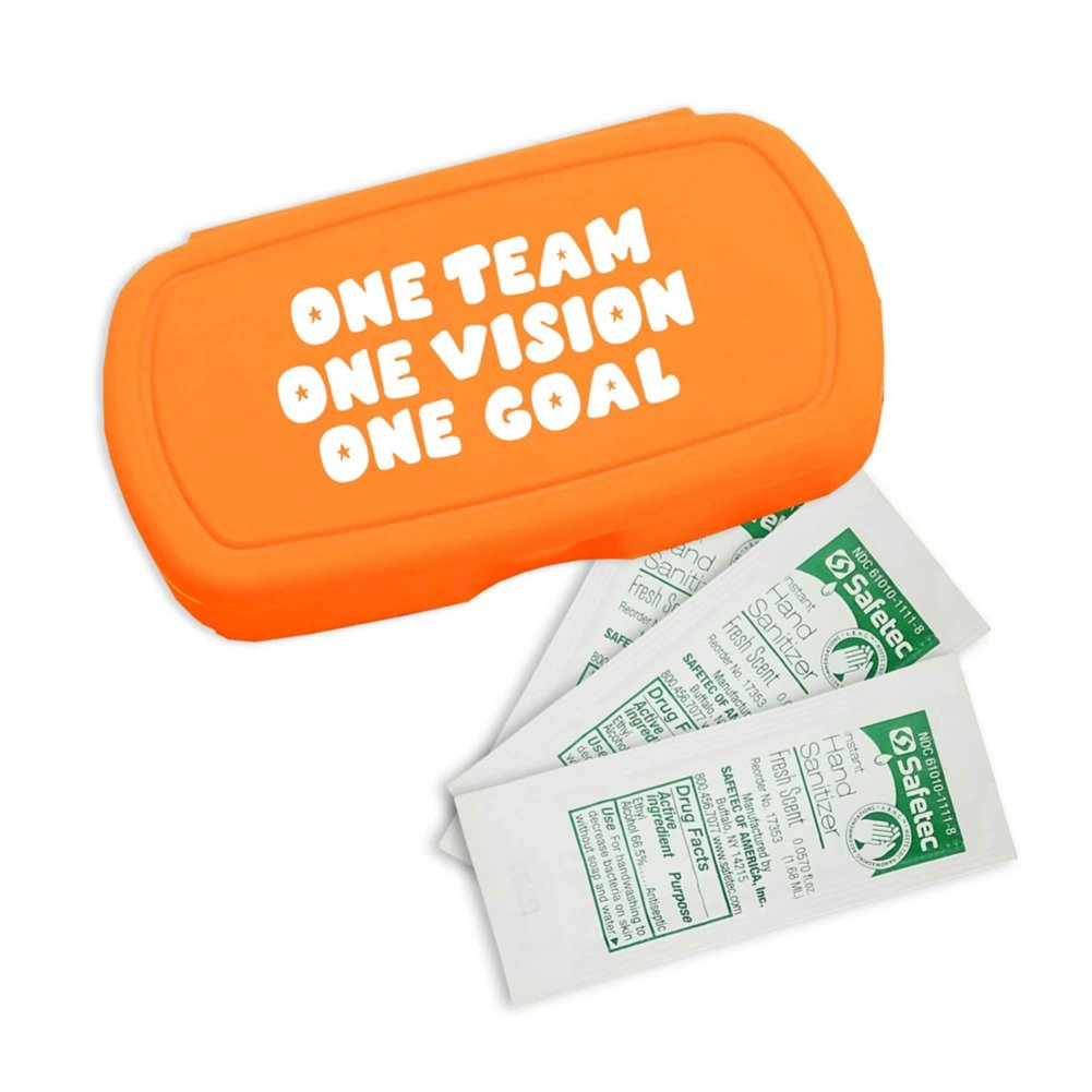 View larger image of Pocket Sanitizer Kit: One Team One Goal