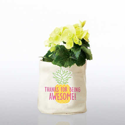 Positively Perfect Plant Holder - Thanks For Being Awesome!