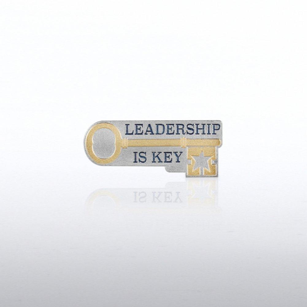 Lapel Pin - Leadership is Key