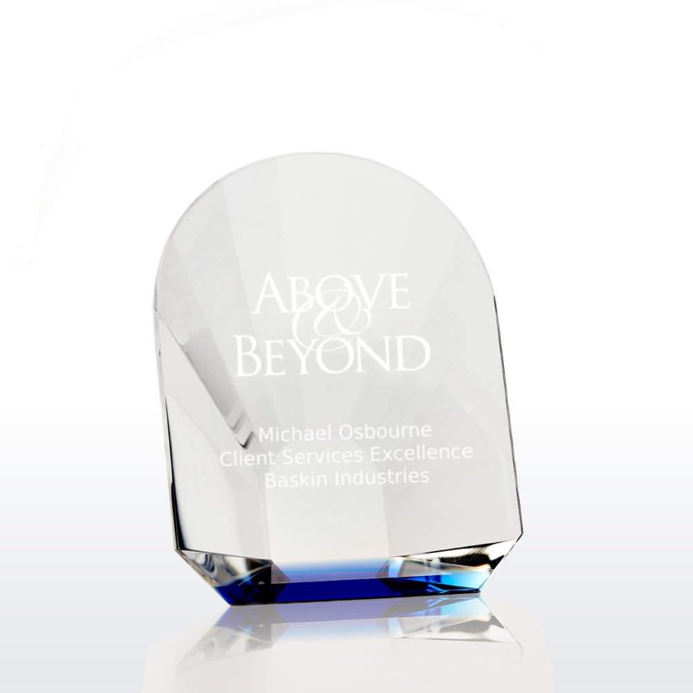 View larger image of Bursting with Praise Petite Crystal Award