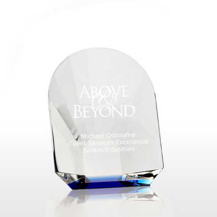Bursting with Praise Petite Crystal Award