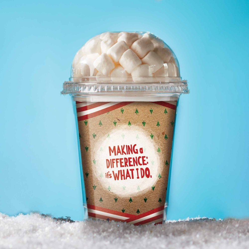 View larger image of Hot Cocoa Cups - Making a Difference: It's What I Do