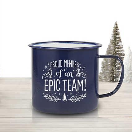 Value Classic Enamel Mug - Proud Member