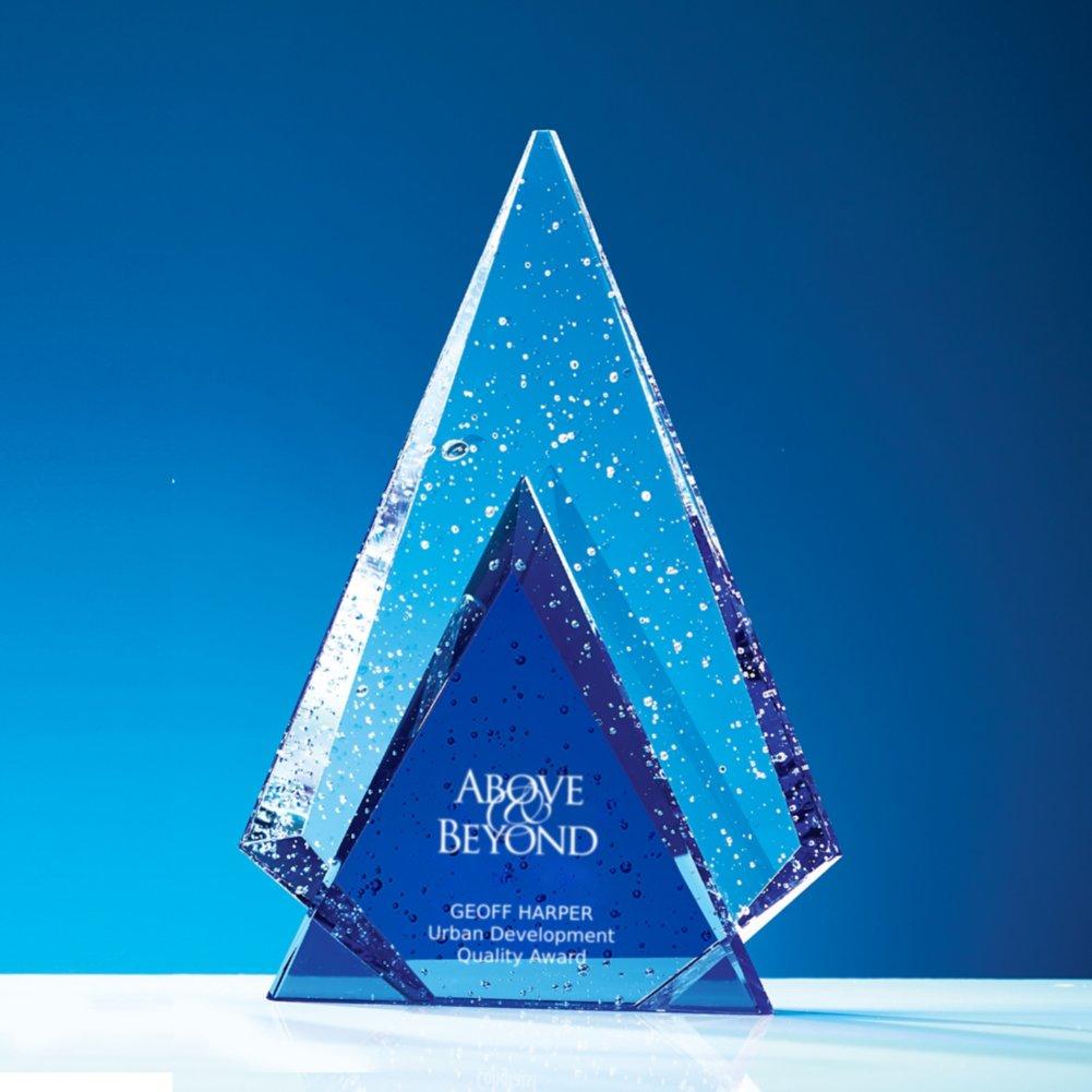 View larger image of Glistening Praise Crystal Award - Peak