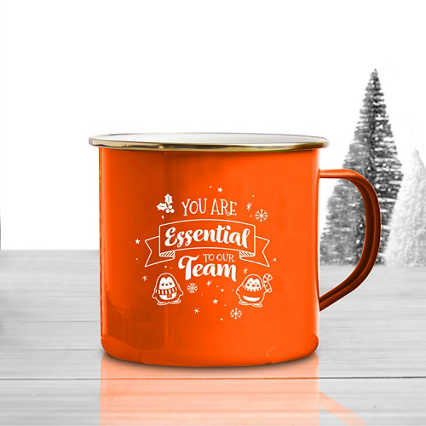 Value Classic Enamel Mug - Essential to Our Team