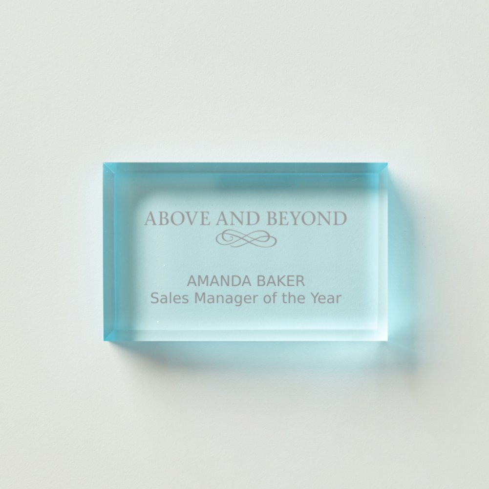 View larger image of Kudos Acrylic Paperweight