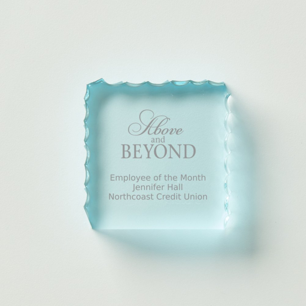 View larger image of Petite Acrylic Wave Paperweight