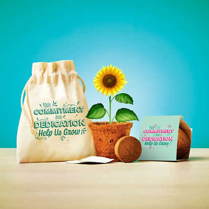 Plantable Encouragement Set - Commitment & Dedication