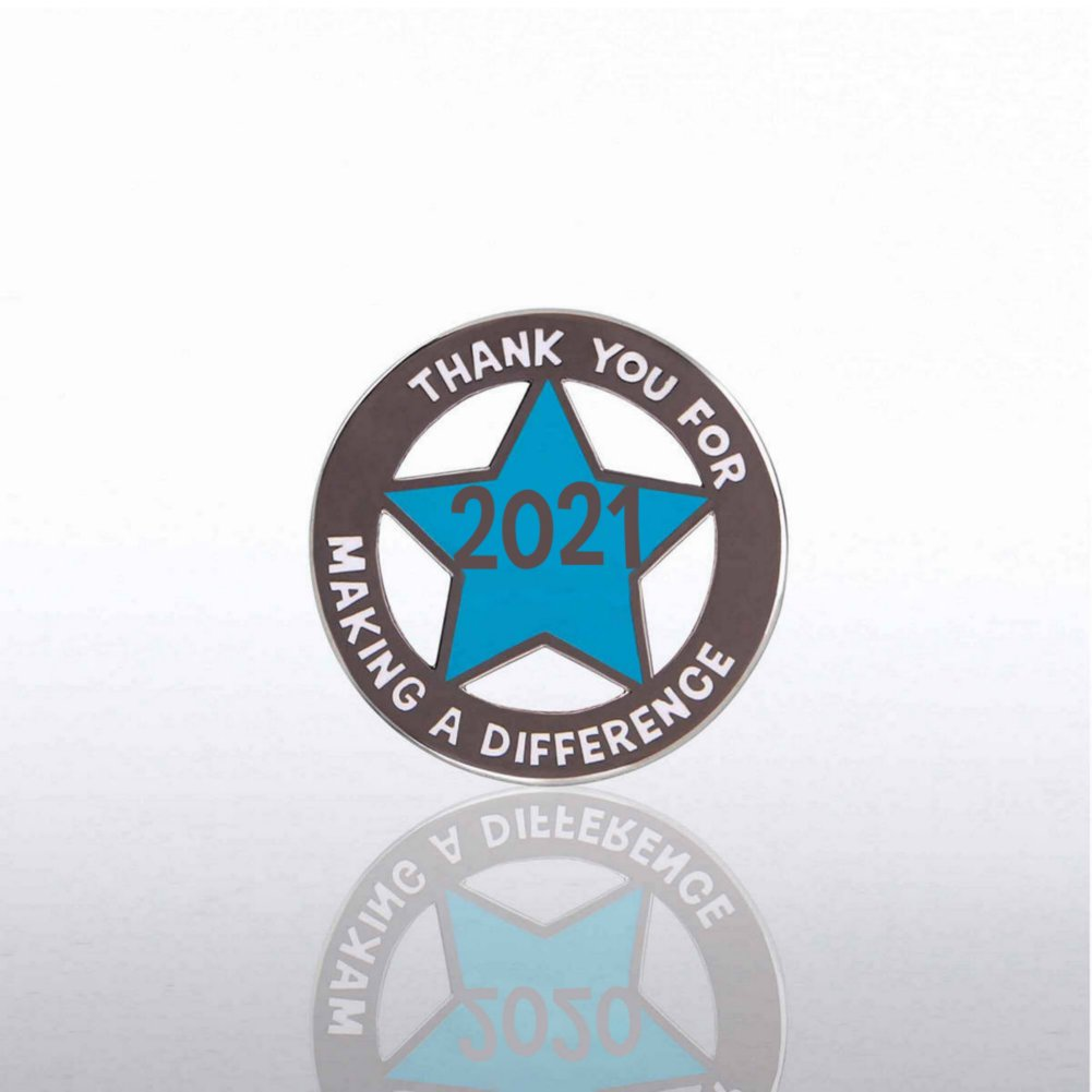 View larger image of Lapel Pin - 2021 Cut Out Star