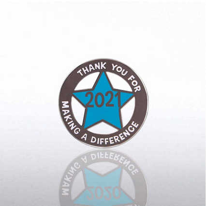 Lapel Pin - 2021 Cut Out Star