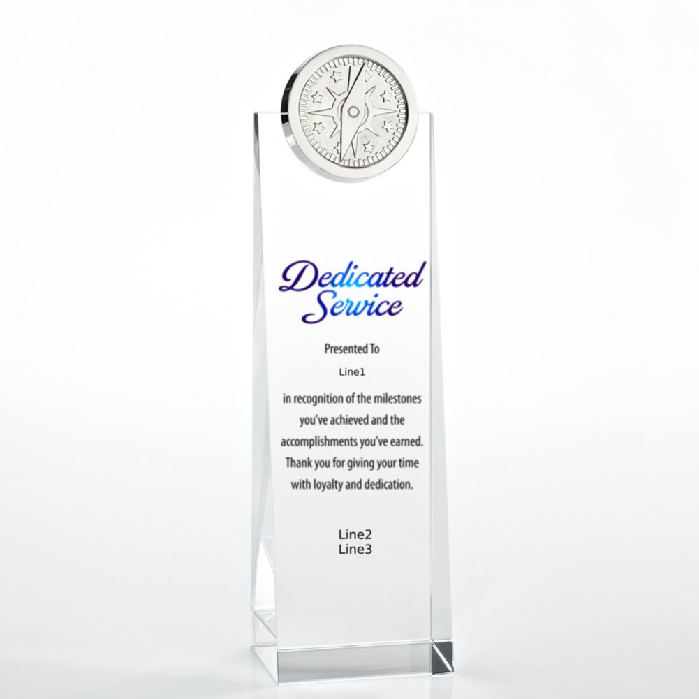 View larger image of Limitless Collection: Crystalline Tower Trophies - Compass