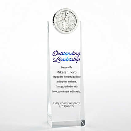 Limitless Collection: Crystalline Tower Trophies - Compass