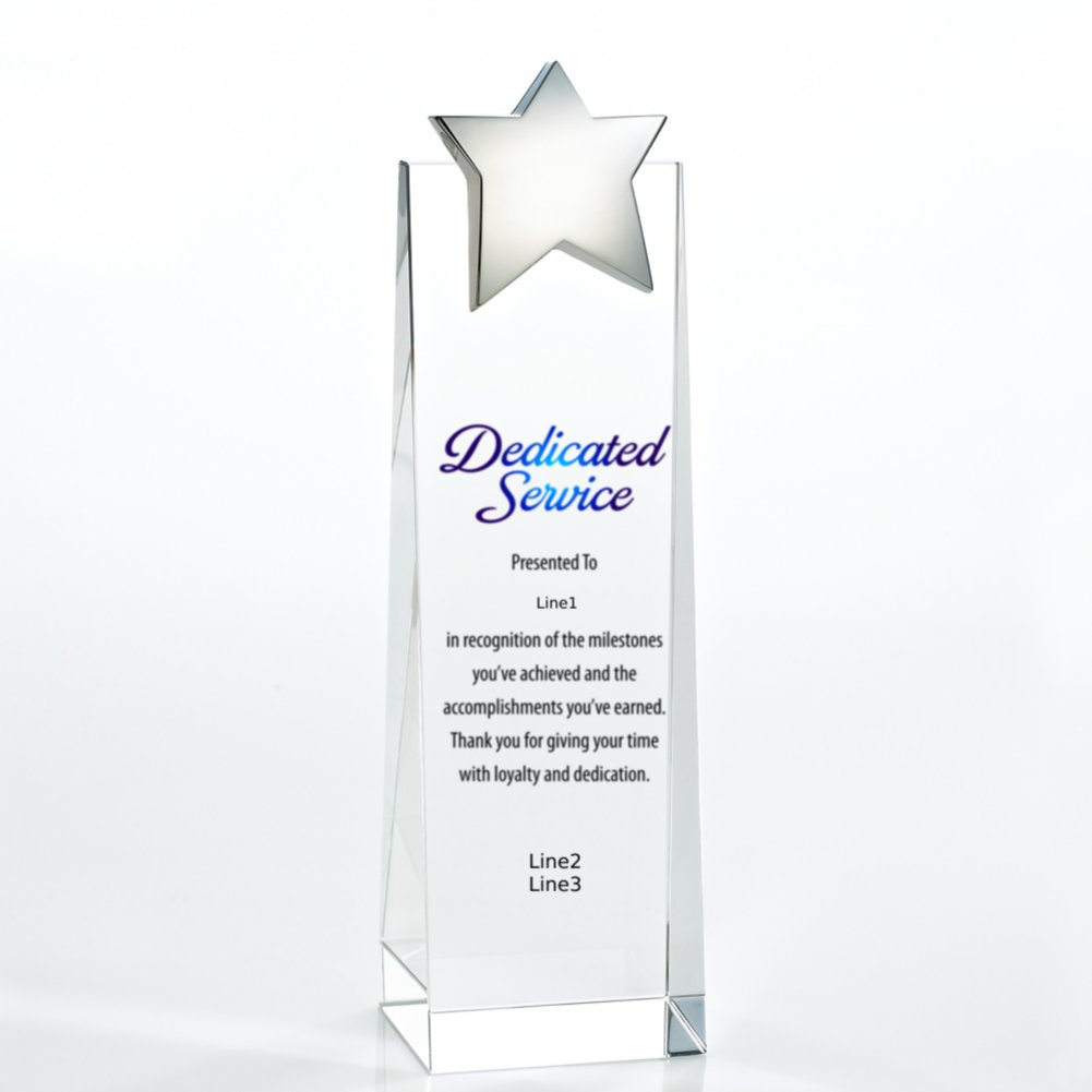 View larger image of Limitless Collection: Crystalline Tower Trophies - Star
