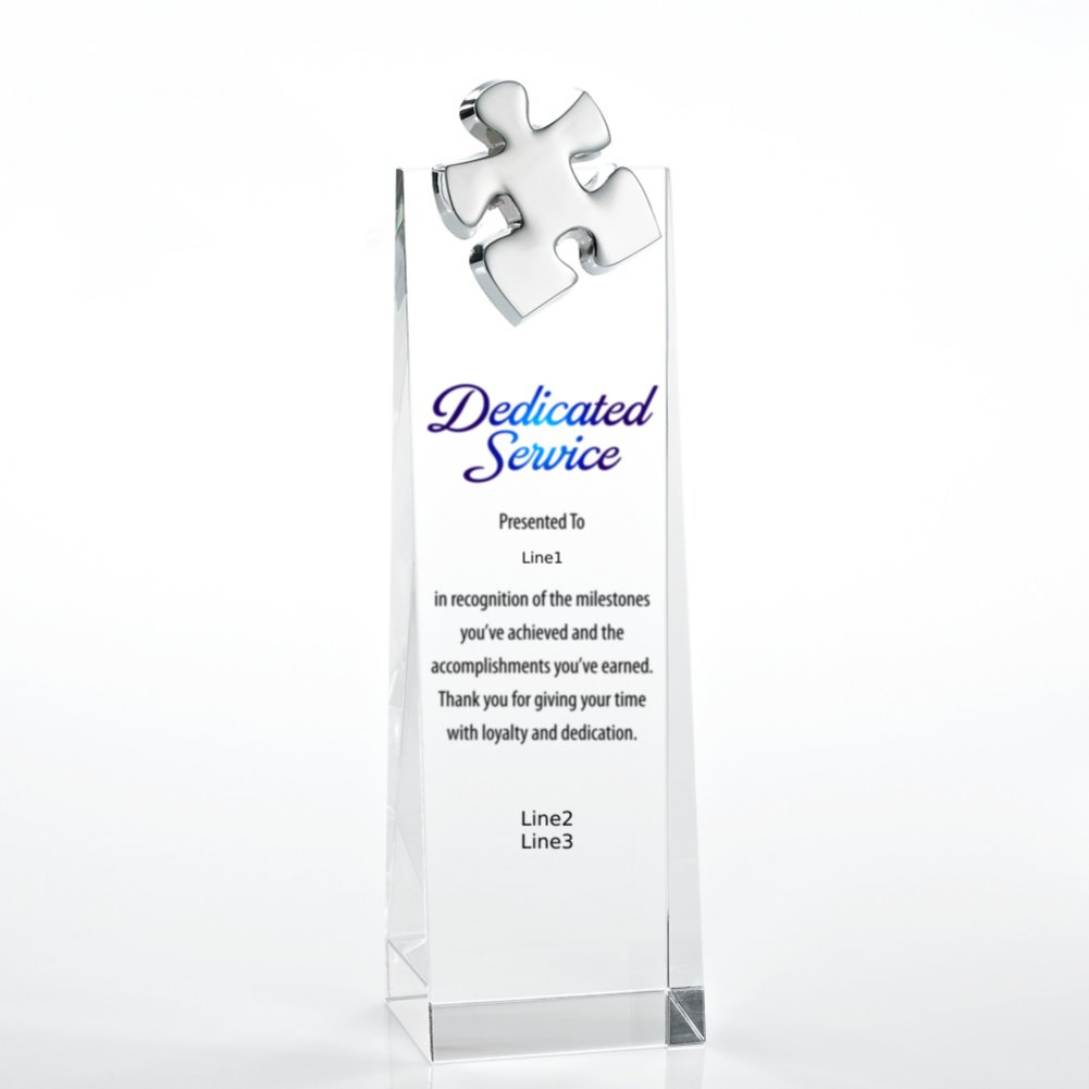 View larger image of Limitless Collection: Crystalline Tower Trophies - Puzzle