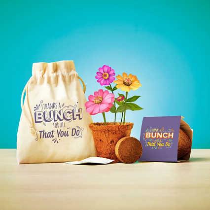 Plantable Encouragement Set - Thanks a Bunch