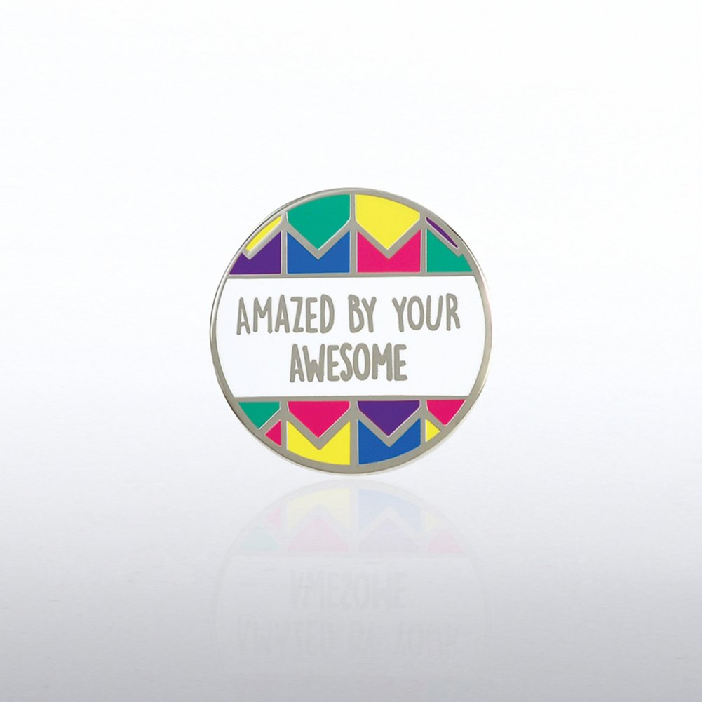 Lapel Pin - Amazed By Your Awesome