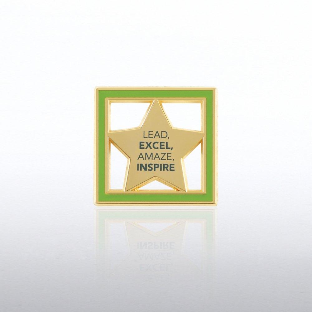 Lapel Pin - Lead, Excel, Amaze, Inspire