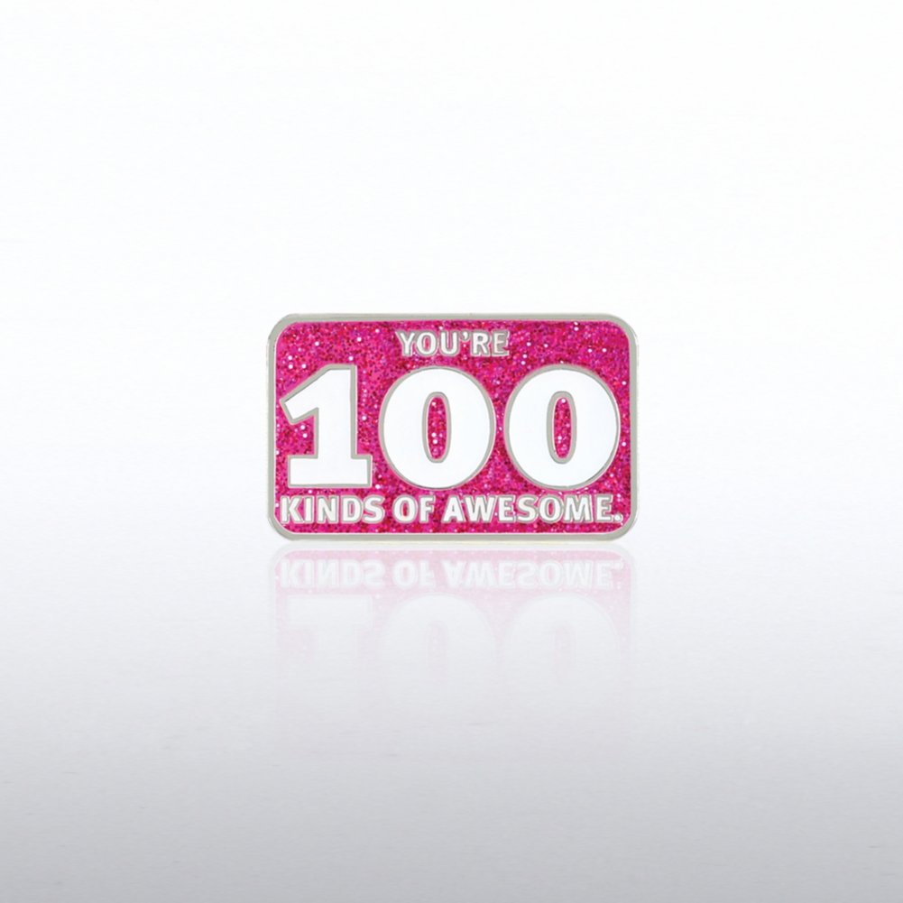 View larger image of Lapel Pin - You're 100 Kinds Of Awesome
