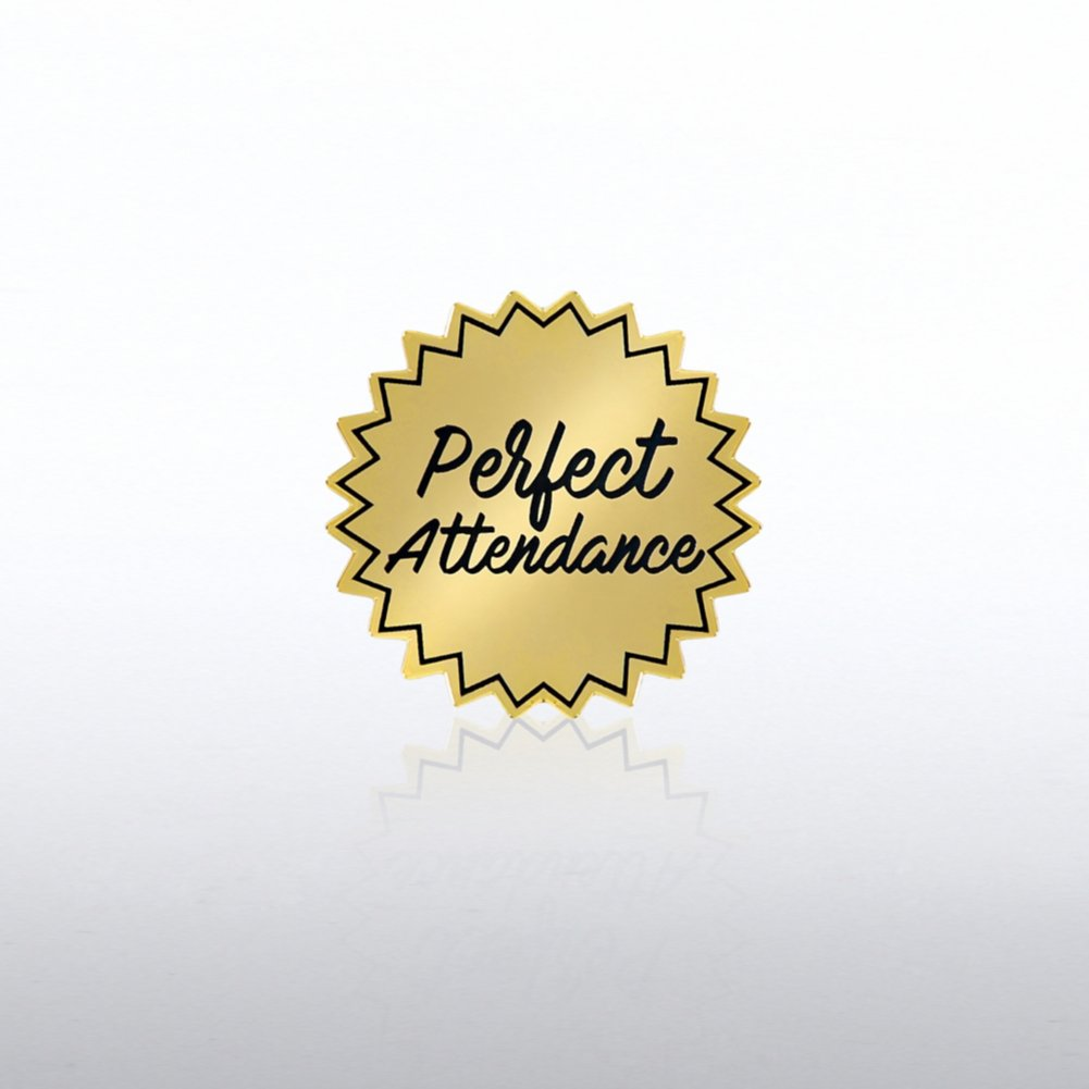 Lapel Pin - Perfect Attendance
