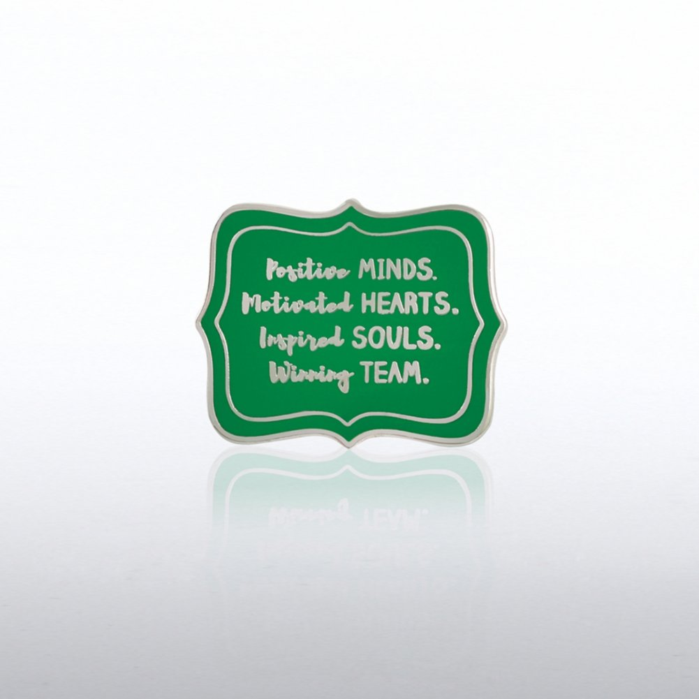 View larger image of Lapel Pin - Postive Minds
