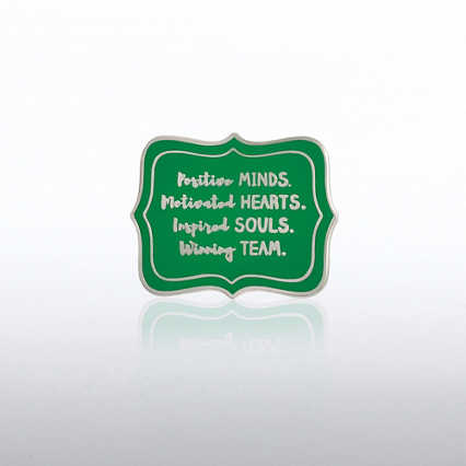 Lapel Pin - Postive Minds