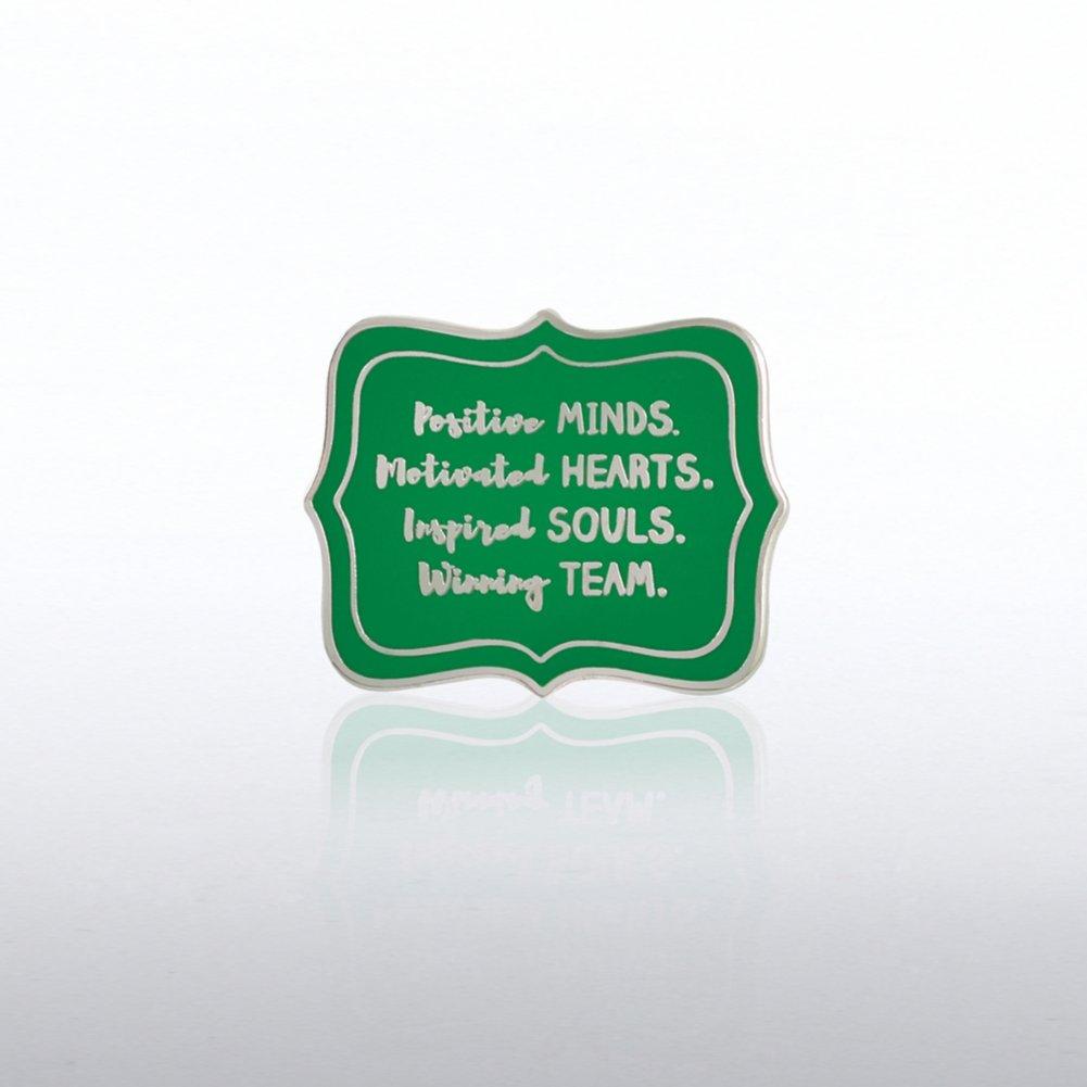 Lapel Pin - Postive Minds