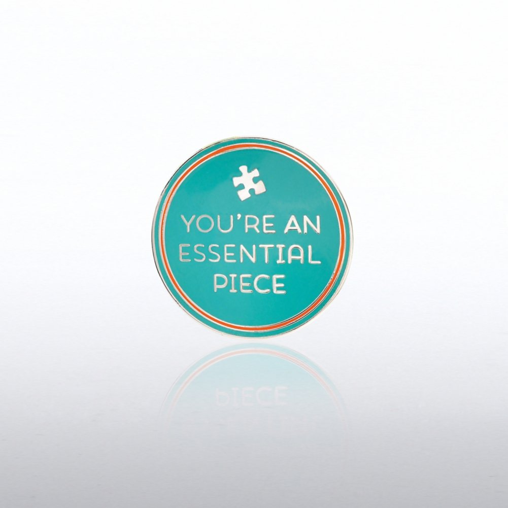Lapel Pin - You're An Essential Piece