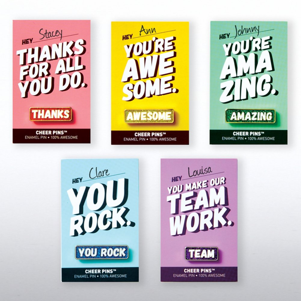 Cheer Pin Bundle - Hey...You're Awesome